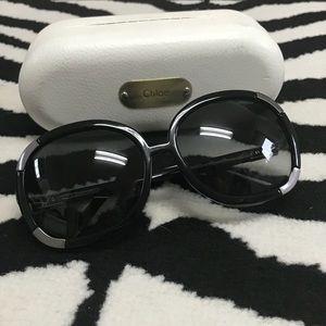 Chloe Myrtle Oversized Sunglasses